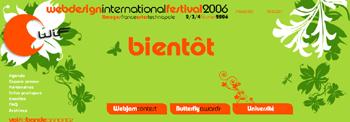Webdesign International Festival